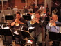 Rick Baptist, Wayne Bergeron and Paul Slavo on trumpet
