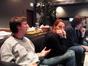 Score preparers Chad Seiter and Andrea Datzman, with music supervisor Danny Bramson
