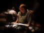 Jonathan Sacks gives  feedback on a cue