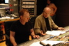 Danny Elfman and score mixer Dennis Sands