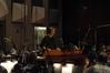 Composer Alex Wurman conducting