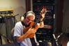 George Doering with his ukulele