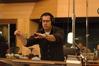Chris Lennertz conducts at Fox