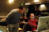 Orchestrator Jon Kull and ProTools Recordist Bryan Carrigan