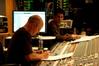 Scoring mixer Brad Haehnel and stage recordist Tom Hardisty