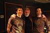 Mychael Danna, Anthony Hopkins and Jeff Danna