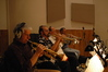 Jerry Hey, Gary Grant, Dan Fornero, and Jon Lewis play trumpets on <i>Hairspray</i>