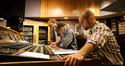 Asst. scoring mixer Charlie Paakkari, Scoring Mixer Dan Wallin, & Kevin Riepl
