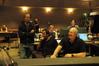New Line Music Executive Bob Bowen, Composer Aaron Zigman, and Scoring Mixer Dennis Sands