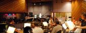 Tight quarters at the Entourage Studios