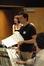 Jim Dooley with actress Ellen Greene