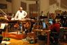 Conductor Don Harper and Music Editor Matt Friedman