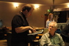Music contractor Peter Rotter and supervising orchestrator Bruce Fowler