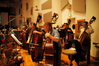 The bass section on <i>Bury My Heart at Wounded Knee</i>