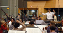 Composer Tilman Ritter conducts the Hollywood Studio Symphony
