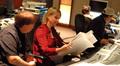 Music mixer Mark Mattson and composer Lolita Ritmanis