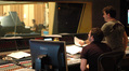 Scoring mixer Nick Wollage and composer Rupert Gregson-Williams