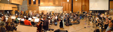 The Hollywood Studio Symphony performs on <i>Bedtime Stories</i>