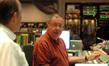 Scoring mixer Shawn Murphy speaks to orchestrator Conrad Pope