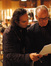 Composer Alexandre Desplat and orchestrator Conrad Pope