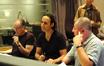 Orchestrator Conrad Pope, composer Alexandre Desplat and scoring mixer Shawn Murphy