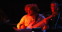 Michael Valerio plays bass
