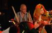 M.B. Gordy and Anna Stafford play music from Battlestar Galactica.