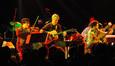 Paul Cartwright, Steve Bartek, and Brendan McCreary play music from Battlestar Galactica.