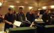 Orchestrator Kevin Kliesch, director Roger Kumble, composer Ed Shearmur and scoring mixer Chris Fogel