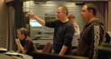 Kevin Kliesch, Ed Shearmur and Chris Fogel (Molly O'Keefe in the rear)
