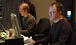 Music Editor Jay Richardson and ProTools recordist Brian Carrigan