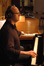 Randy Kerber plays celeste and piano simultaneously