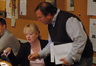 Contractors Sandra Kipp and Peter Rotter