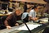 Composer Paul Haslinger and scoring mixer Joel Iwataki