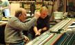 Scoring mixer Armin Steiner and composer Mark Mancina