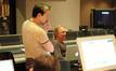 Stage recordist Adam Michalak and composer Mark Mancina