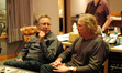 Disney Music Executive Chris Montan and composer Mark Mancina