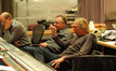 Scoring mixer Armin Steiner, Disney Music Executive Chris Montan and composer Mark Mancina