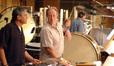 Percussionists Bob Zimmitti and Alan Estes