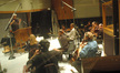 Conductor Tim Simonec and the string section