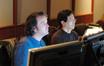 Music editor Steve Durkee and ProTools recordist Larry Mah