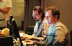 Technical score advisor Stuart Thomas and ProTools recordist Kevin Globerman