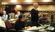 Technical score advisor Stuart Thomas, ProTools recordist Kevin Globerman, orchestrator Jeff Atmajian, composer James Newton Howard and scoring mixer Alan Meyerson
