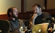 Music editors Paul Apelgren and Steve Davis