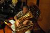 John Van Houten plays tuba