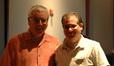 Conductor Tim Simonec and composer Chris Tilton