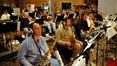 Saxophonists (l to r): Bill Liston, Gene Burkert, Dan Higgins, Jeff Driskill, and Greg Huckins