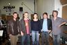 from left to right:  Bart De Pauw(screenplay), Wolfram de Marco, Hilde De Laere(producer), Erik Van Looy(director/ screenplay) and Philippe Ravoet(editor)