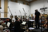 Andy Brown (conductor) and London Metropolitan Orchestra string section