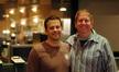 Composer Aaron Zigman with agent Richard Kraft